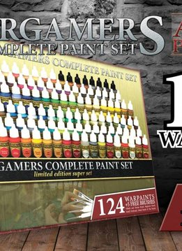 Warpaints Wargames Complete Paint Set Limited Edition