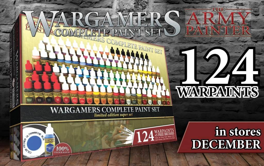Warpaints Wargames Complete Paint Set Limited Edition