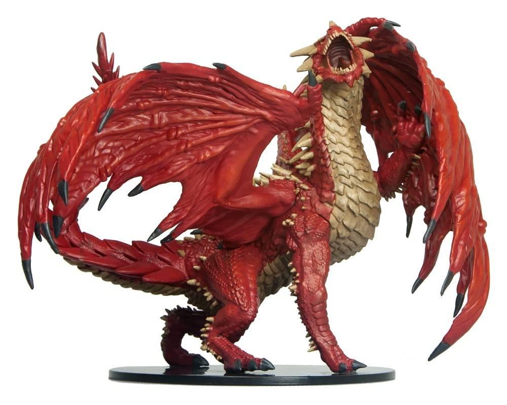 PF Unpainted Minis Gargantuan Red Dragon