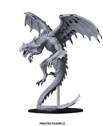 PF Unpainted Minis Gargantuan White Dragon