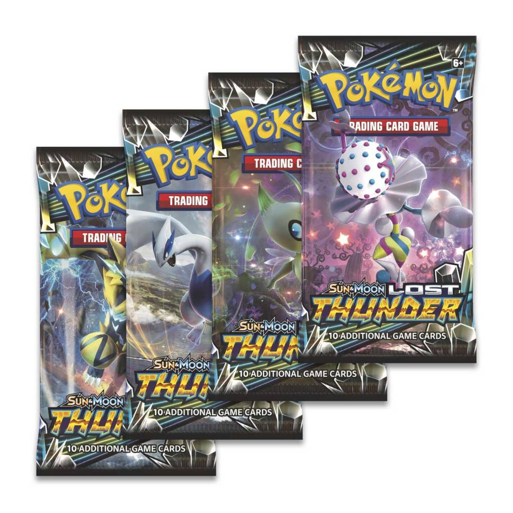 Pokemon Lost Thunder Booster Pack