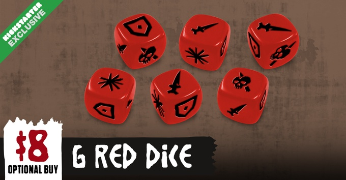 Hate KS Edition : Red Dice (Max 2)