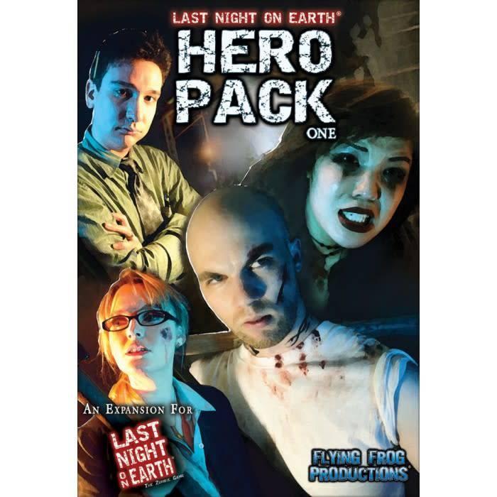 Hero Pack 1 Last Night on Earth exp
