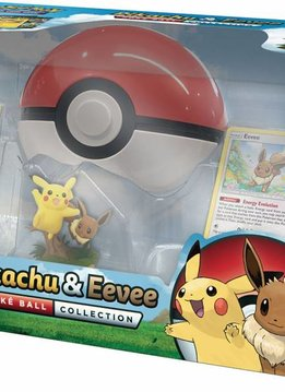 Pokemon Pikachu and Eevee Pokeball Collection