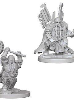 DND Unpainted Minis: Dwarf Male Paladin