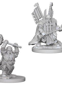 D&D Unpainted Minis: Dwarf Male Paladin