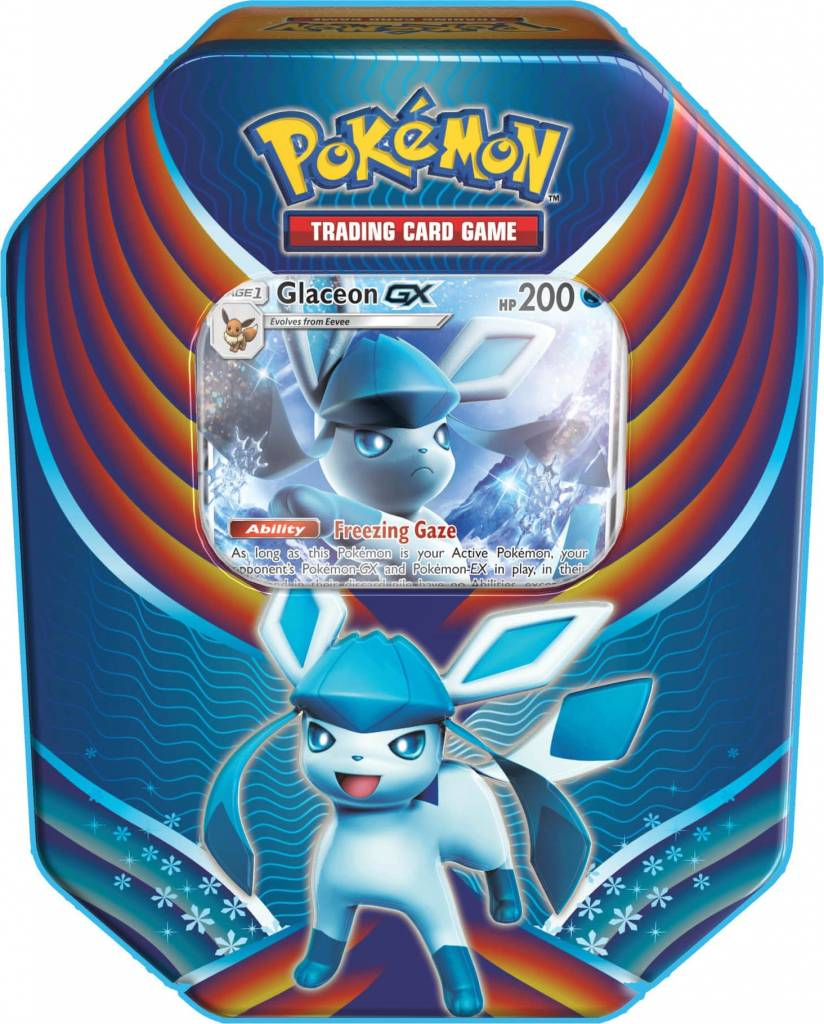 Pokemon Tins Fall 2018 - Glaceon