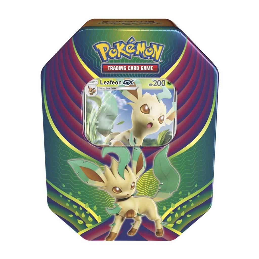Pokemon Tins Fall 2018 - Leafeon