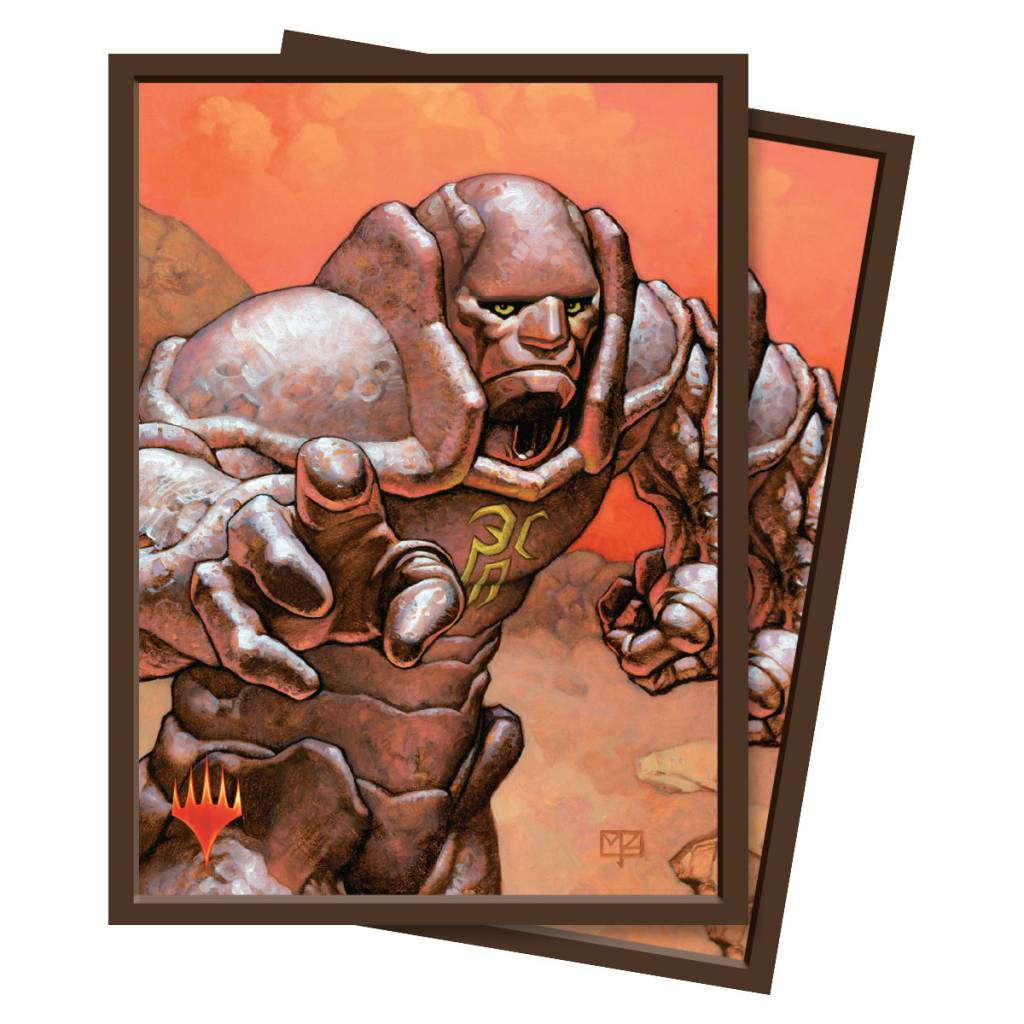 Karn Silver Golem Sleeves 100ct