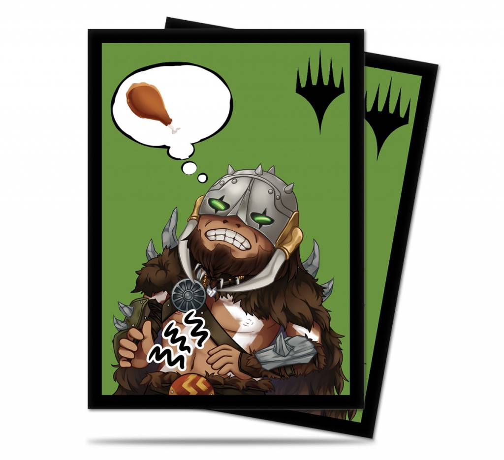 Chibi Garruk Sleeves 100ct