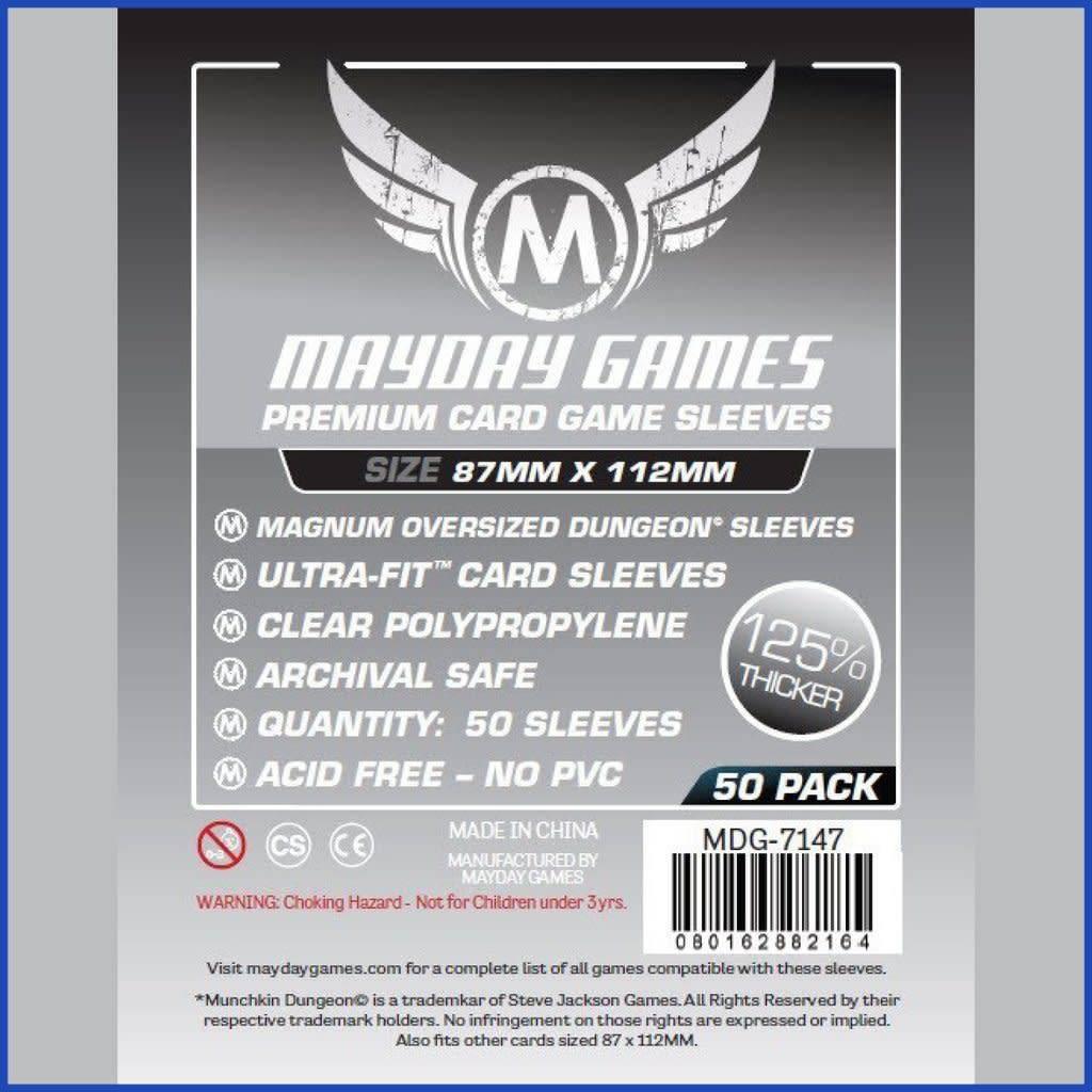 Protecteurs de cartes «Munchkin Dungeon» - 87mm X 112mm Deluxe - Paquet de 50