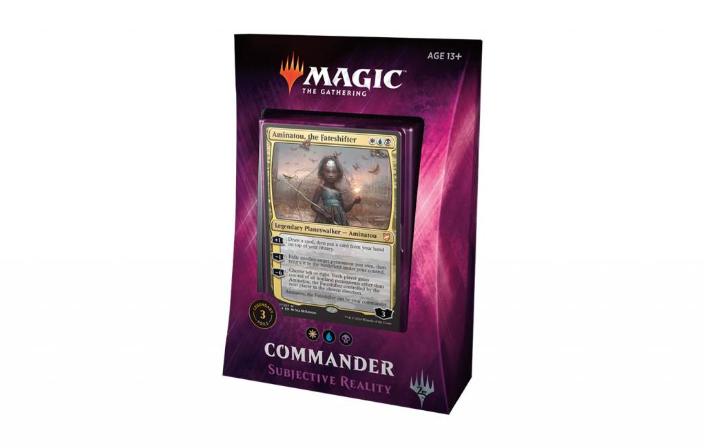 Commander Deck 2018: Subjective Reality
