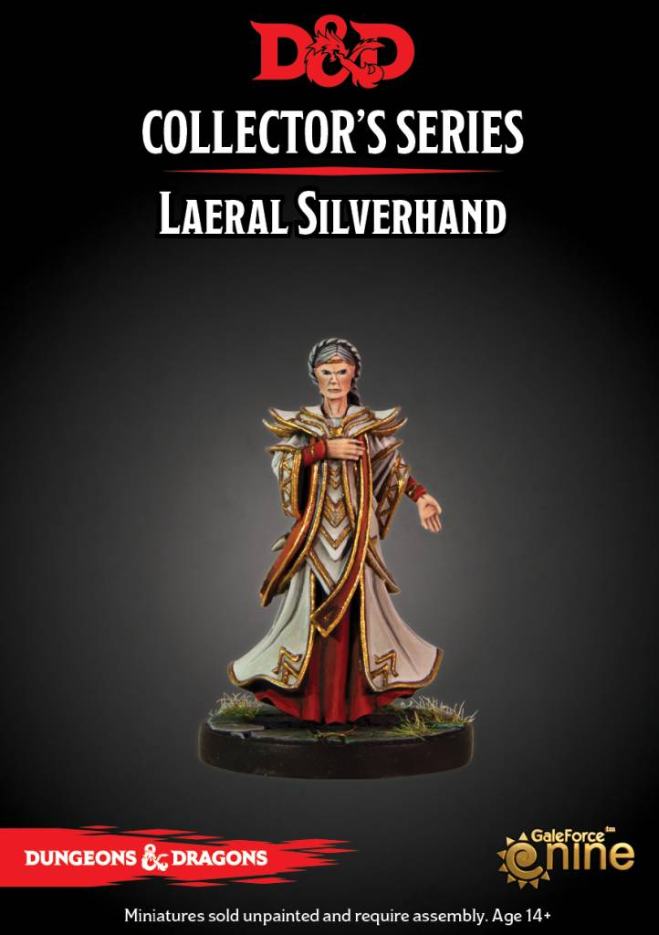 D&D Waterdeep Dragon Heist Laeriel Silverhand Mini