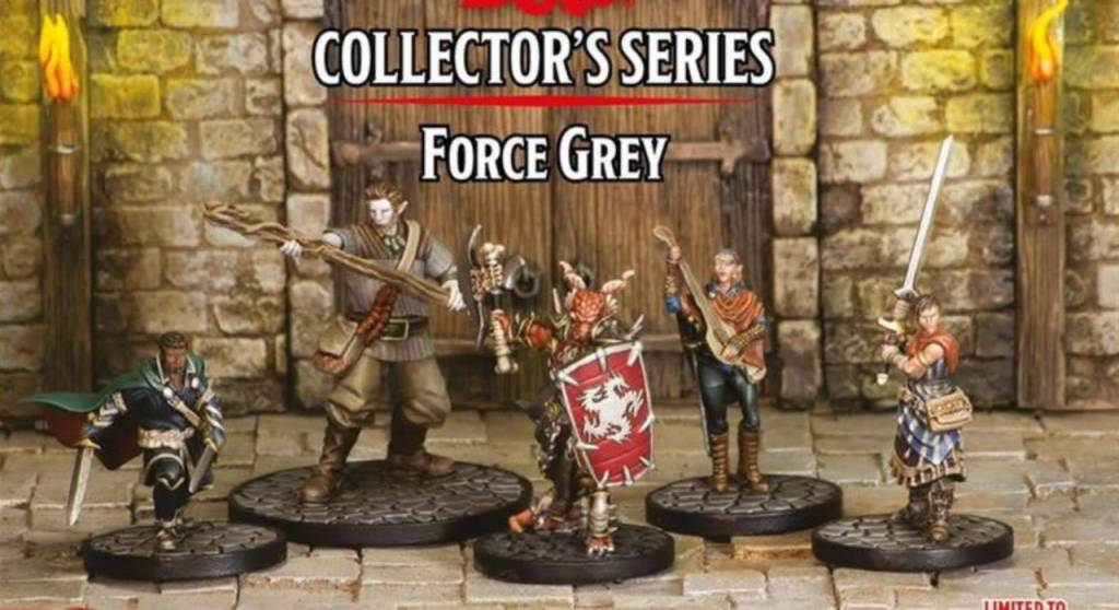 D&D Force Grey Minis