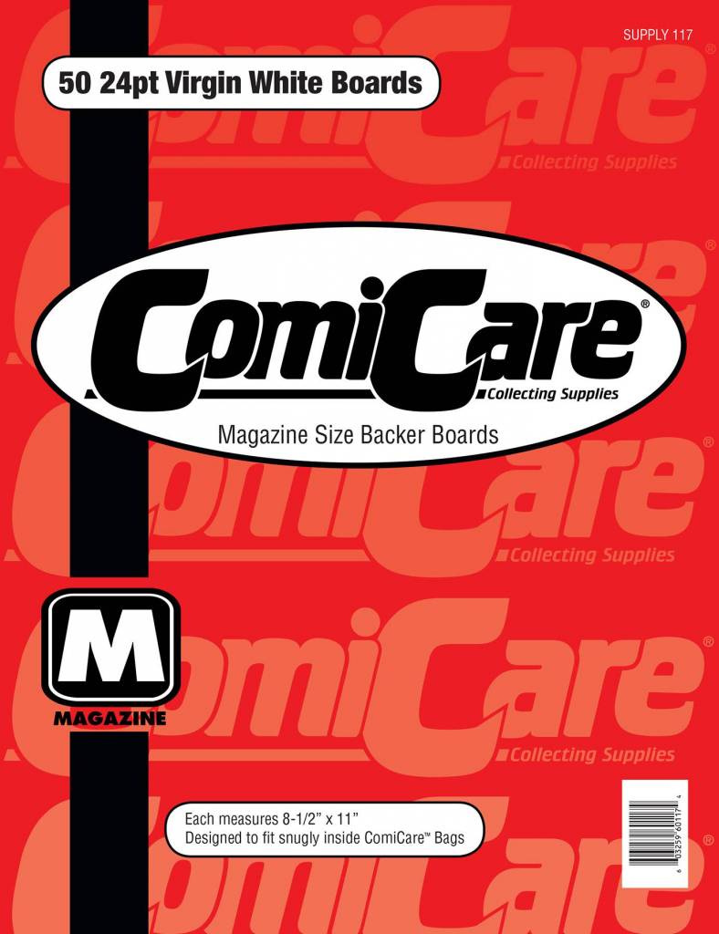 COMICARE MAGAZINE SIZE BOARDS 50ct (1/10)