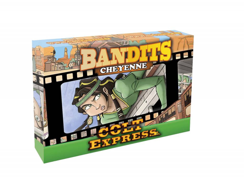 Colt Express Bandit Pack - Cheyenne Expansion Multi