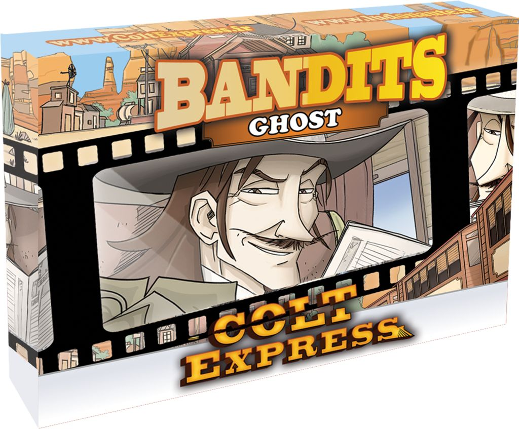 Colt Express Bandit Pack - Ghost Expansion Multi