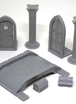 Massive Darkness KS: 3D Pack: Doors and Bridges