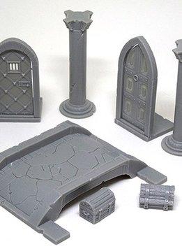 Massive Darkness KS: 3D Pack: Doors and Bridges