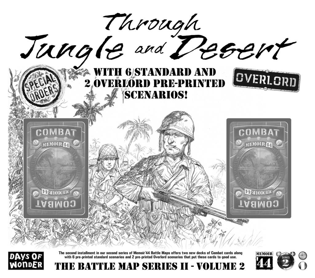 Memoir '44 Through Jungle and Desert