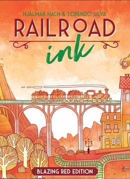 Railroad Ink Blazing Red Edition