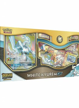 Pokemon Dragon Majesty White Kyurem GX Box