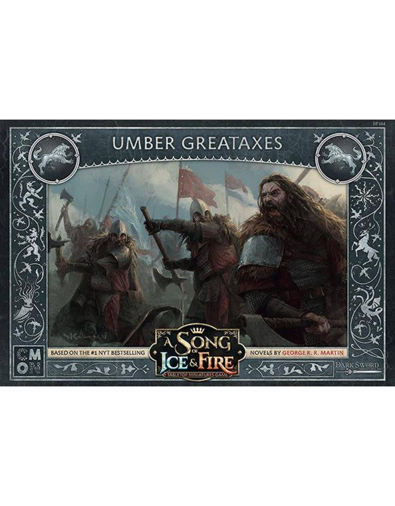 A Song of Ice and Fire Umber Greataxes