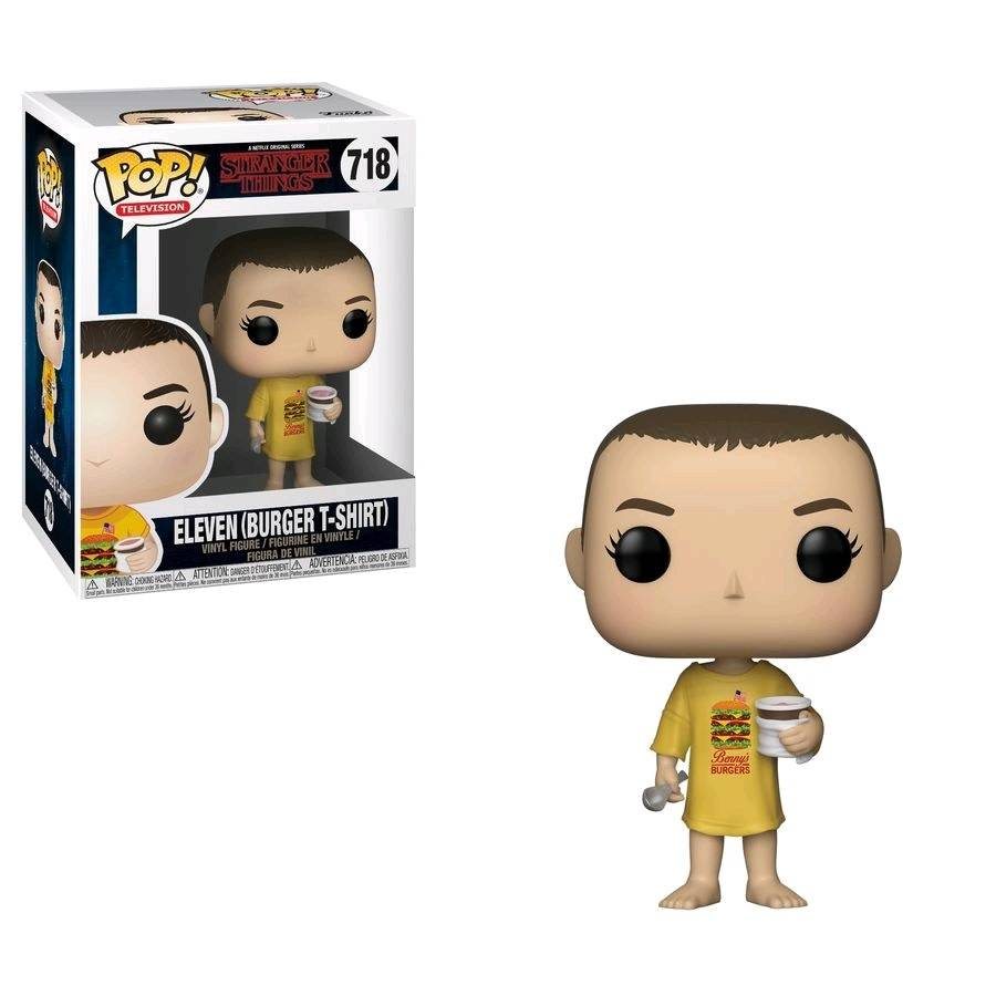 Pop! Eleven in Burger Shirt