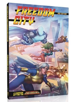 Mutants & Masterminds Freedom City Campaign Setting
