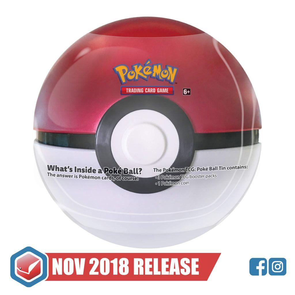 Pokemon Pokeball Tin Wave 1