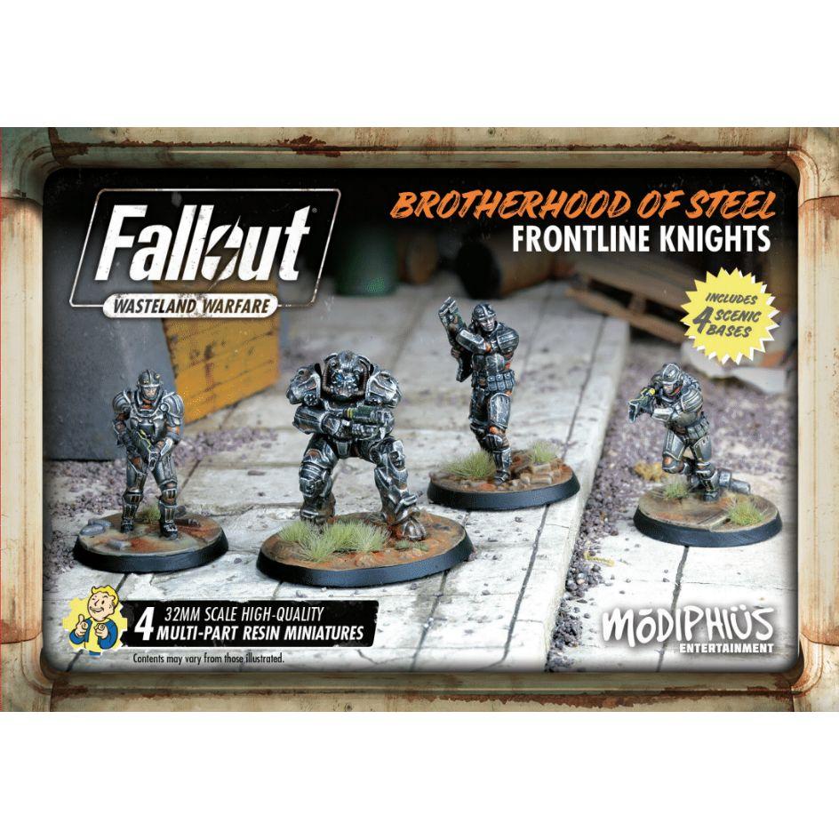 Fallout Brotherhood of Steel Frontline Knights Set