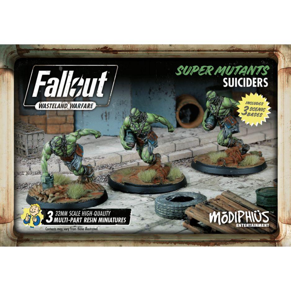 Fallout Super Mutants Suiciders Set