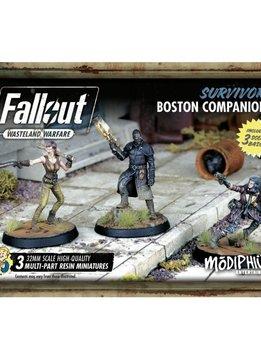 Fallout Survivors Boston Companions Set