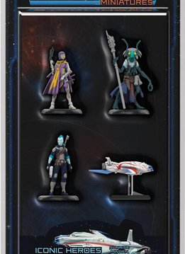 Starfinder Minis Iconic Heroes Set 1