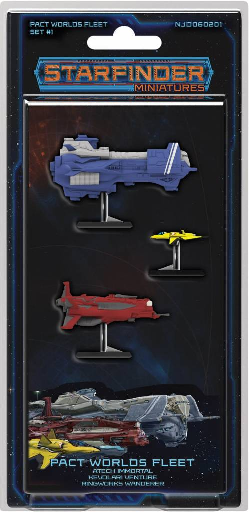 STARFINDER MINIS: PACT WORLDS FLEET SET 1