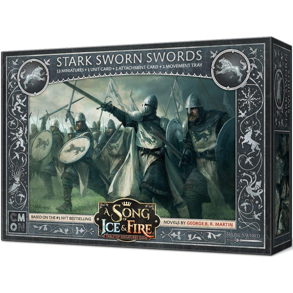 Song of Ice and Fire - STARK SWORN SWORDS