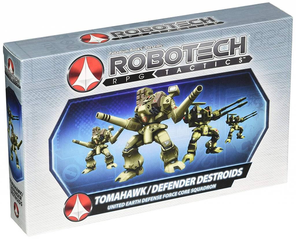 ROBOTECH TACTICS:UEDF TOMAHAWK/DEFENDER DESTROIDS
