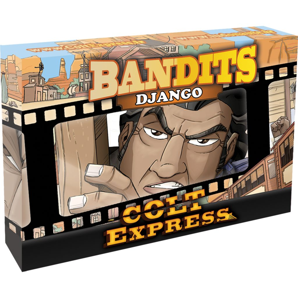 Colt Express Bandit Pack - Django Expansion Multi