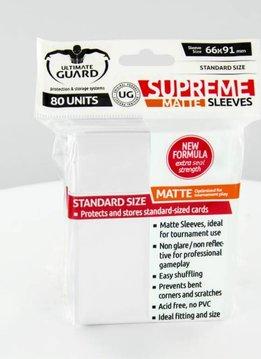 Supreme Matte Sleeve White (80)