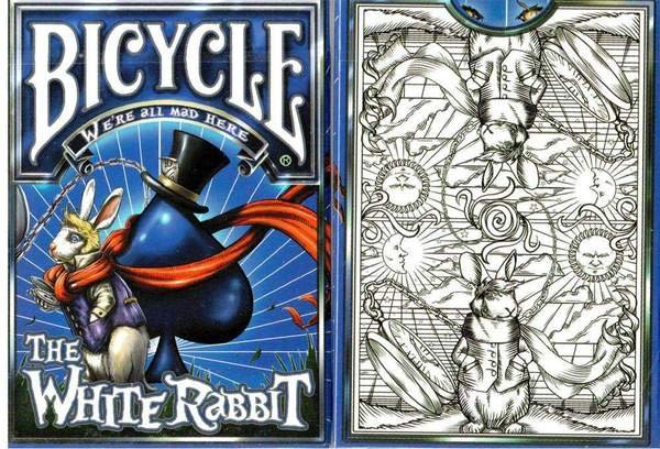 Playing Cards The White Rabbit