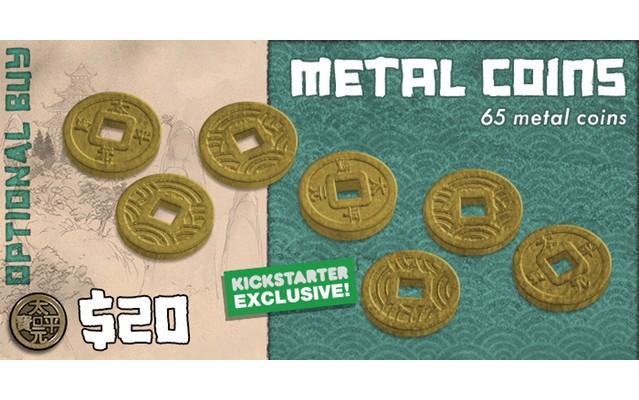 Rising Sun: Metal Coins
