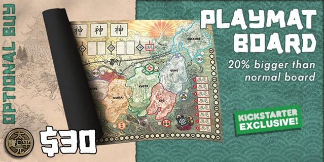 Rising Sun: Playmat Board (Used)