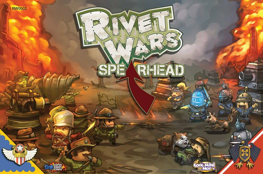 Rivet Wars Spearhead EXP.