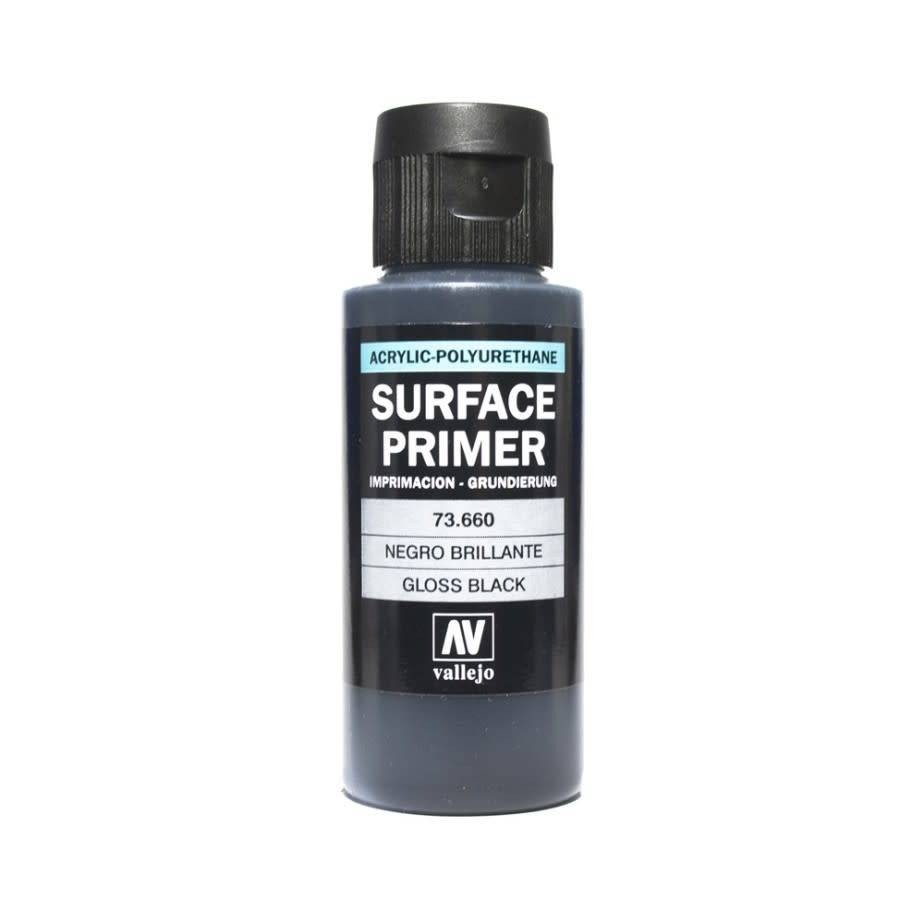 Vallejo Gloss Black Primer (60ML)