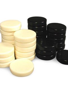 Checkers - Urea Black and Ivory