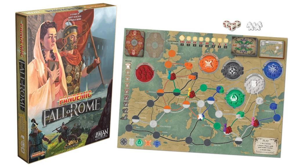 Pandemic - Fall of Rome