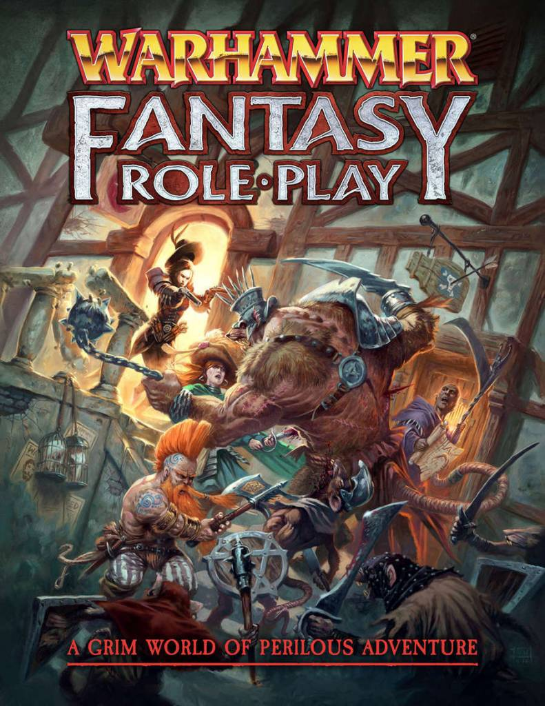 Warhammer Fantasy Roleplay 4th Ed. Rulebook