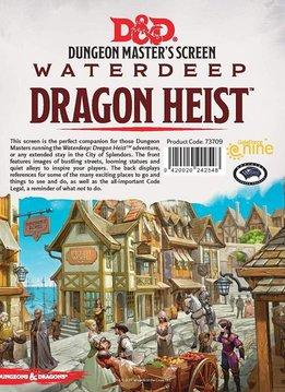 D&D DM Screen Waterdeep Dragon Heist