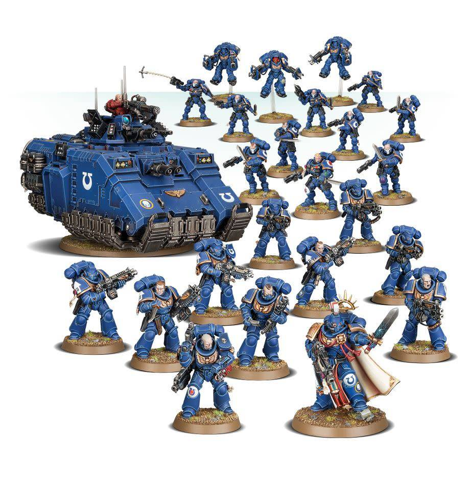 Space Marines Primaris Interdiction Force Battleforce