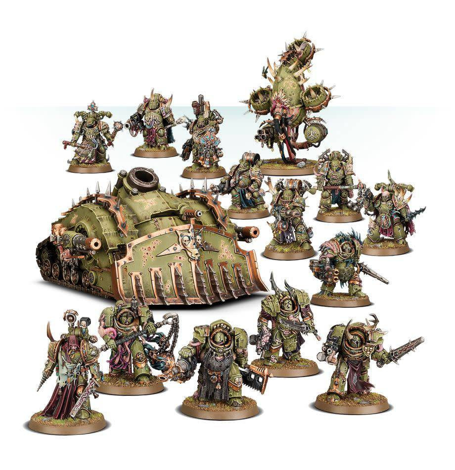 Death Guard Infection Cluster Battleforce